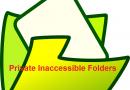 make private inaccessible folders